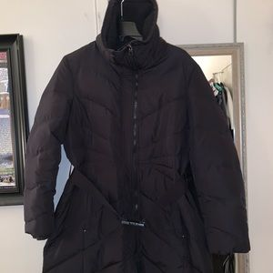 Kenneth Cole Reaction Belted Puffer Coat XL
